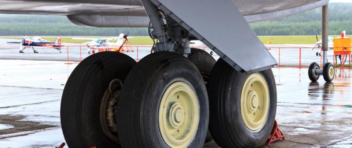 Самолетное шасси